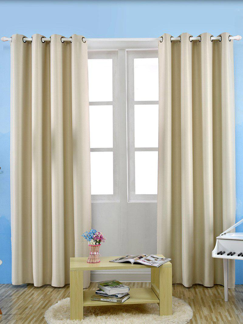 Grommet Thermal Insulated Window Blackout Curtains