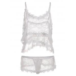 See Through Lace Plus Size Camisole -