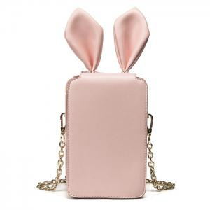 Rabbit Ear Cross Body Chains Bag