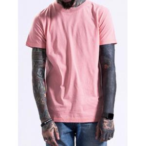 Crew Neck Short Sleeve Plain T Shirts