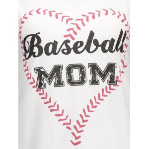 Baseball Mom Graphic Tank Top -