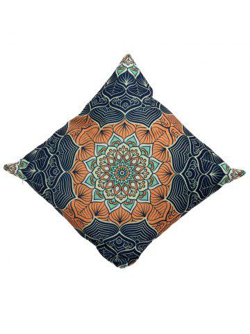 Online Ethnic Printed Linen Throw Pillow Case Cover - 45*45CM COLORMIX Mobile