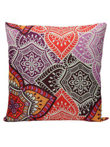 Fashion Ethnic Printed Pillow Case - 45*45CM COLORMIX Mobile