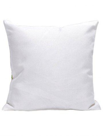 Chic Ethnic Style Flower Print Linen Pillow Cover - 45*45CM COLORMIX Mobile