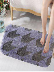 Arrow Skid Resistant Flannel Bathroom Foam Mat