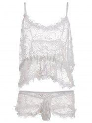 See Through Lace Plus Size Camisole
