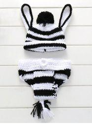 Knitted Underwear and Donkey Hat Baby Blanket For Sale