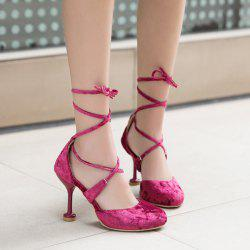 Strange Style Tie Up Pumps