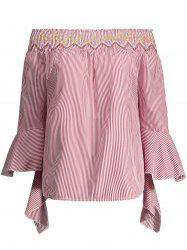 Off The Shoulder Bell Sleeves Top -