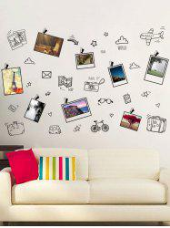 Travel Plans Notes Removable Photo Wall Sticker