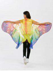Chiffon Sleeveless Butterfly Wing Cape Pashmina