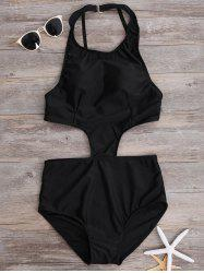 Cut Out Bodycon Swimwear
