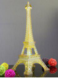 Colorful Eiffel Tower Shape LED Night Light - WHITE