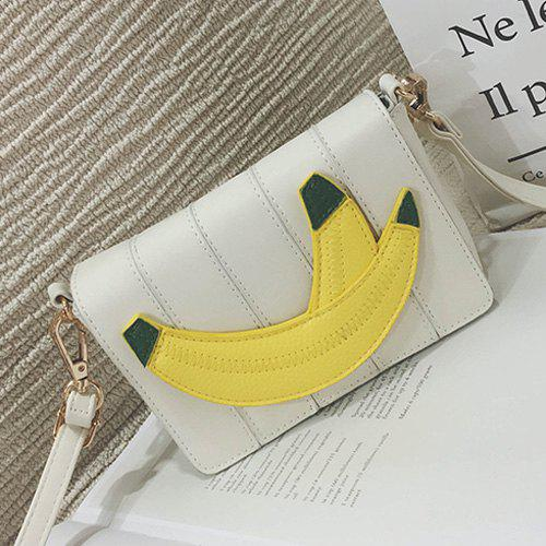 Discount Banana Patches Flap Crossbody Bag