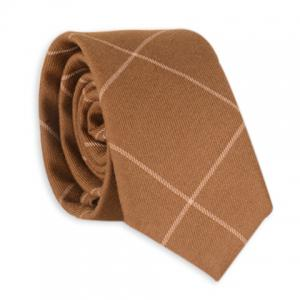 Checked Anti Wrinkle Neck Tie
