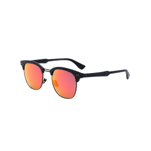 Butterfly Mirrored Sunglasses with Carve Leg - Jacinth - 5xl