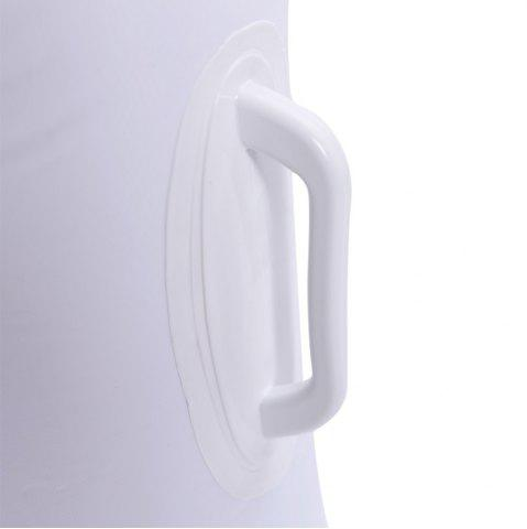 Store Inflatable PVC Swan Shape Floating Row - WHITE  Mobile