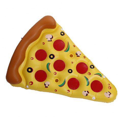 New Pizza Shape Inflatable Swimming Float - MANDARIN  Mobile