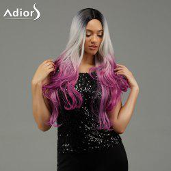Adiors Wavy Gradient Middle Part Long Synthetic Wig