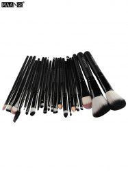 Maquillage Maange 22 Pcs Eye Pinceaux - Noir