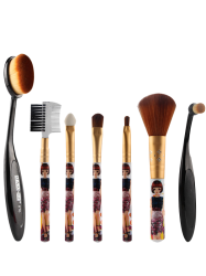7 Pcs Nylon Makeup Brushes Set