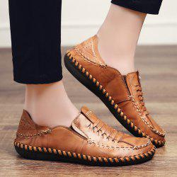 Whipstitch Elastic Casual Shoes