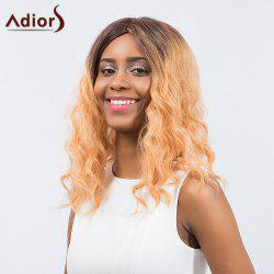 Adiors Long Curly Ombre Middle Part Synthetic Wig