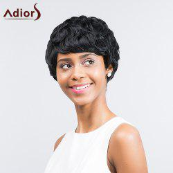 Adiors Short Layered Hairstyle Capless Synthetic Wig