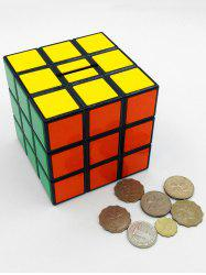 Magic Cube Shape Money Box - COLORMIX