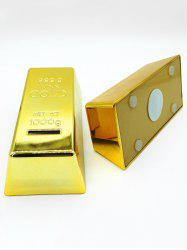 Simulation Gold Bullion Coins Saving Banker