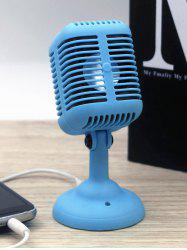 Portable USB Charge Connection Mic Speaker