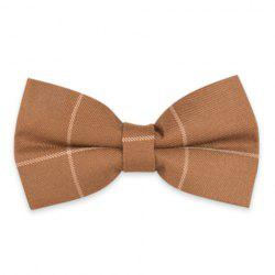 Plaid Anti Wrinkle Bow Tie