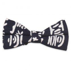 Pictogram Embellished Bow Tie