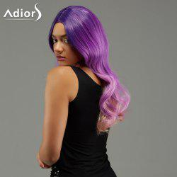 Adiors Long Wavy Ombre Centre Parting Synthetic Wig