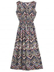 Sleeveless Zigzag Cut Out Dress