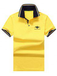 Sports Short Sleeve Polo T Shirt