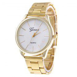 Quartz Watch with Steel Band