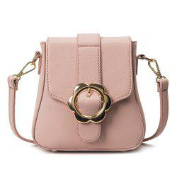 Flower Buckle Mini Cross Body Bag