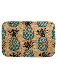 Pineapple Printed Slow Rebound Bathroom Floor Mat