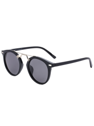 Streetwear Sunglasses with Alloy Nose Bridge