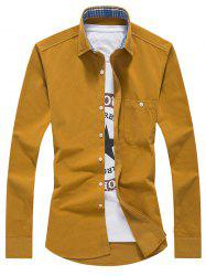 Chest Pocket Corduroy Shirt