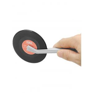 Record Design Vinyl Pizza Wheel Cutter - Red - 32