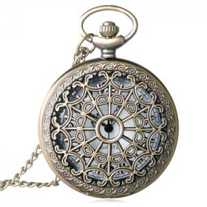 Hollow Out Vintage Quartz Pocket Watch