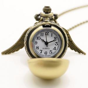 Ball Vintage Pocket Watch with Wings - BRONZE COLORED