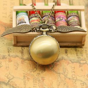 Ball Vintage Pocket Watch with Wings - BRONZE-COLORED