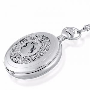 Hollow Out Engraved Vintage Pocket Watch -
