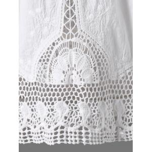 Crochet Lace Hollow Out Tank Top -