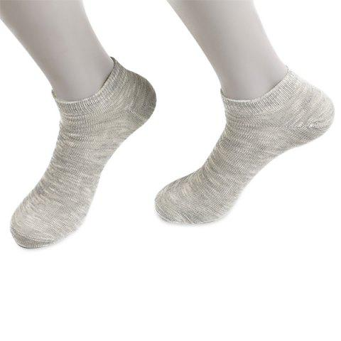Outfits Elastic Knitted Ankle Socks LIGHT GRAY
