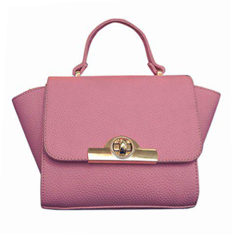 Online Fashionable Lichee Pattern and PU Leather Design Tote Bag For Women