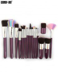 MAANGE 18 Pcs Multifunction Makeup Brushes Set
